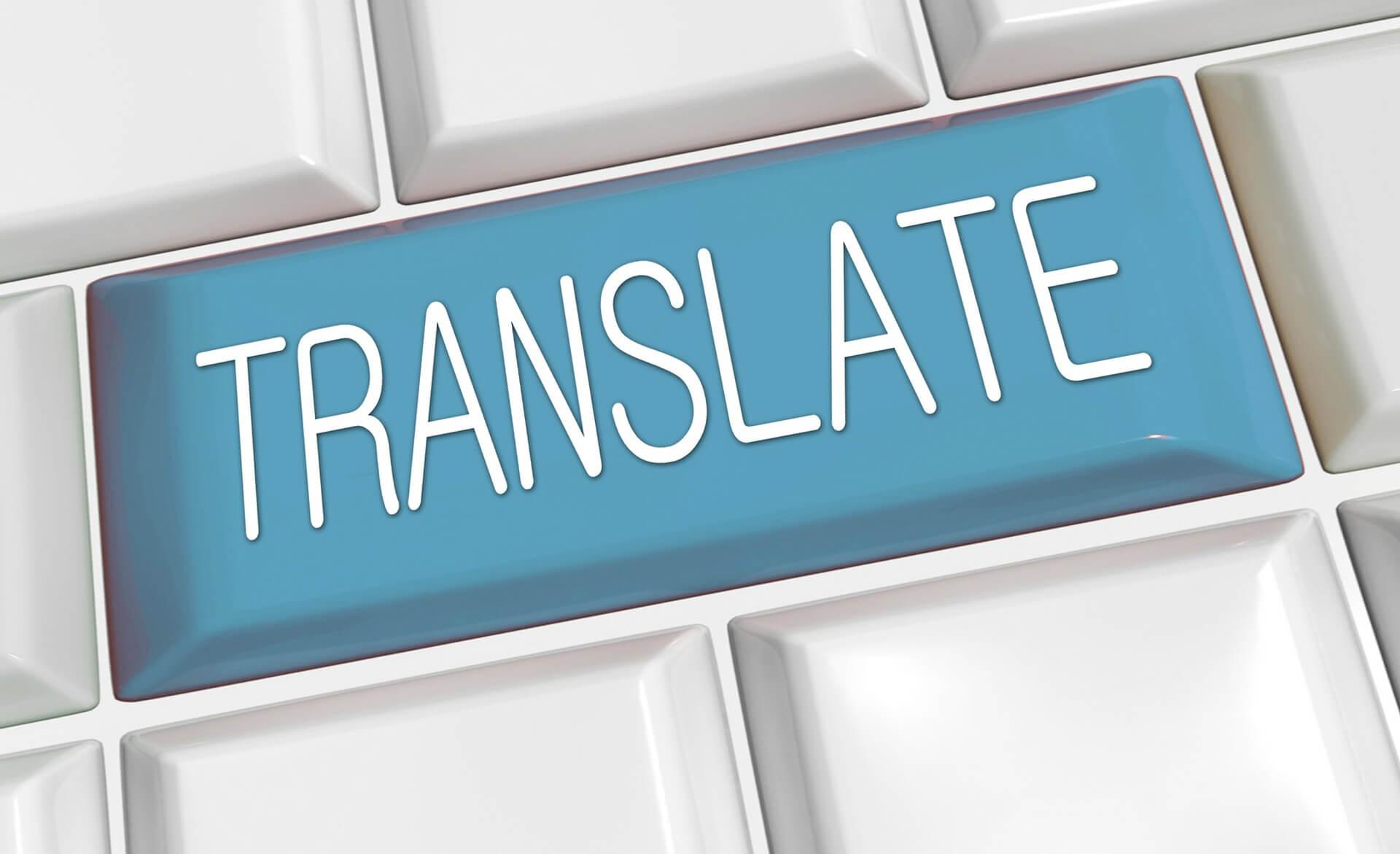 Translate using CAT tool