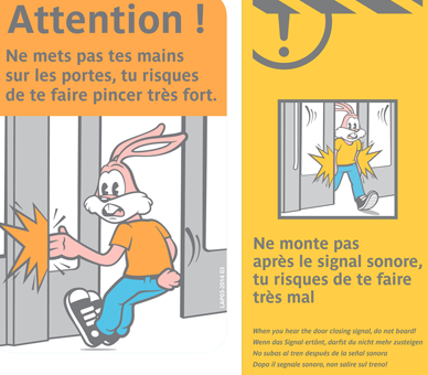 serge the rabbit from Parisian subway