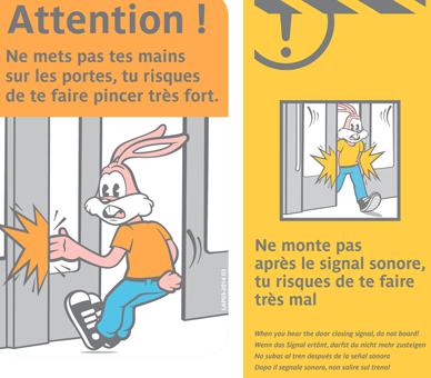 serge the rabbit from Parisian subway
