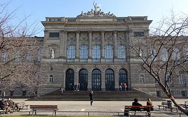 photo of the Palais Universitaire of Strasbourg